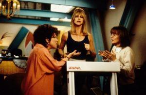 """I get my best ideas when I'm workin out,"" Goldie Hawn."