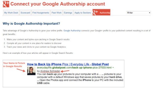 GoogleAuthorshipPage
