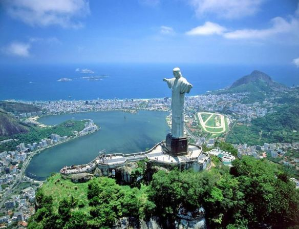 In honor of the upcoming World Cup Games, Rio de Janiero is on our vacation wish list this summer. Image credit: www.fancyholidays.com